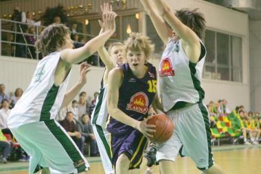 Įsteigta Nacionalinė moksleivių krepšinio asociacija