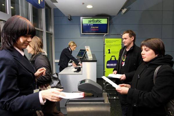 """""""airBaltic"""" Vilniuje gegužę aptarnavo beveik 35 tūkst. keleivių"""