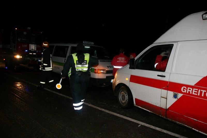 Vilniuje susidūrė trys automobiliai, keturi žmonės – ligoninėje