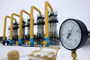 Dujų gavyba Rusijoje sausį išaugo šeštadaliu