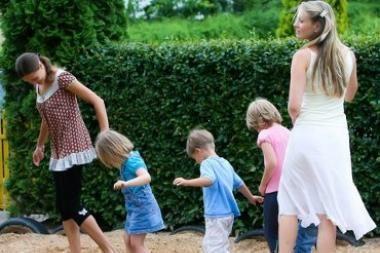 Vilniuje - pirmasis Lietuvoje ekologiškas vaikų darželis