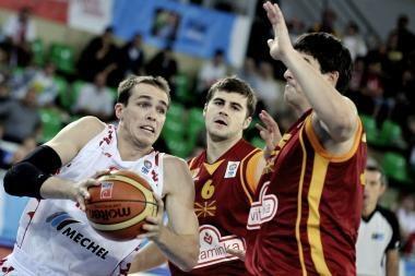 E grupė: rusams pasisekė mače su makedonais