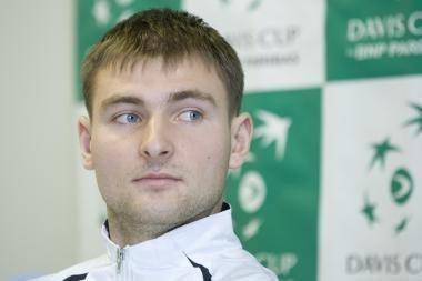 Teniso turnyre Vilniuje nebeliko lietuvių