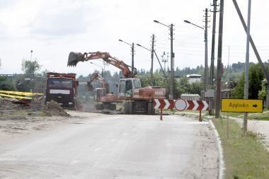 Dubysos gatvė uždaryta daugiau nei pusmečiui (papildyta)