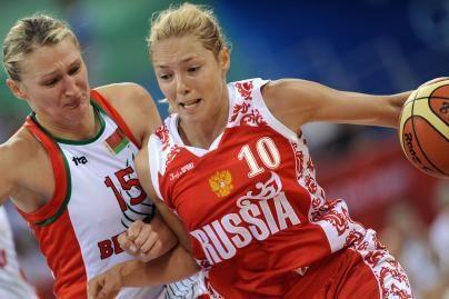 Rusijos krepšininkės žaidžia be pralaimėjimų