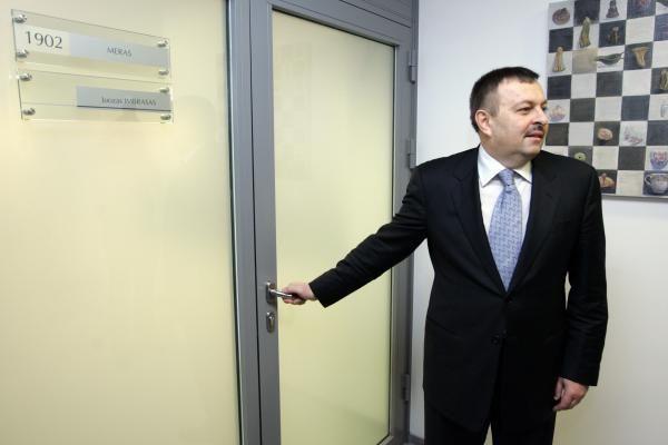 Preliminariame savivaldos rinkimų sąraše V.Navickas liko tik 28-as