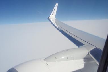 Danguje virš Europos - vėl sumaištis