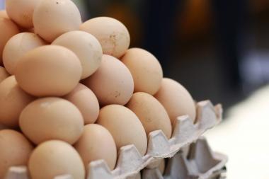 Lesalai brangsta, kiaušiniai dar ne