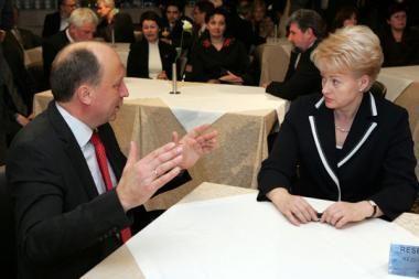 Prezidentė: keisti premjero ir koalicijos nereikėtų