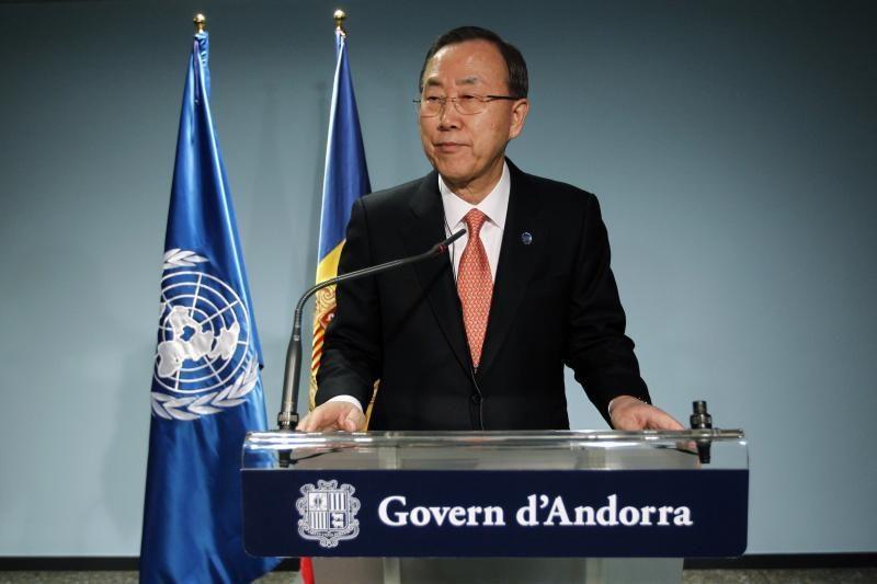 """JT generalinis sekretorius: Šiaurės Korėjos krizė """"jau nuėjo per toli"""""""