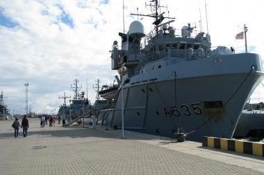 Uostamiestyje – karinių laivų atviros dienos