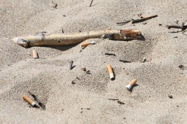Kinijoje sukurta cigarečių nuorūkų perdirbimo technologija