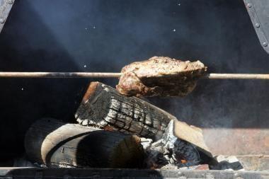 Klaipėdos senamiestyje - Mėsininkų gatvės šventė