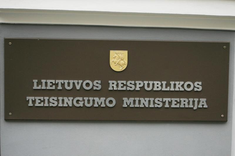 Darbą pradėjo teisingumo   viceministras