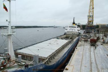 Klaipėdoje – cemento ir logistikos terminalas