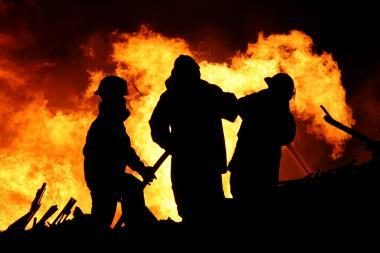 Gaisre sudegė vyras