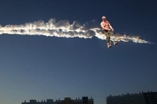 """Internete - Čeliabinsko meteorito """"meme'ų"""" sprogimas (foto)"""
