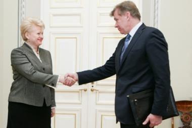 A.Ažubalis taps užsienio reikalų ministru (papildyta 12.55 val.)