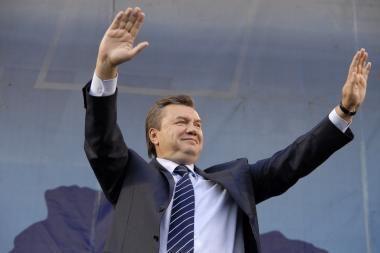 Lietuvoje gyvenantys ukrainiečiai labiausiai rėmė V.Janukovyčių