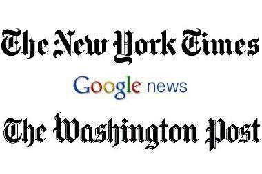 """Google"" sujungia ""NY Times"" ir ""Wash. Post"" istorijas"