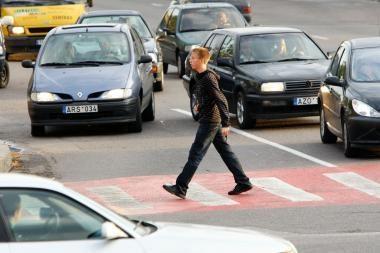 Kauno gatvėse sužaloti pėstieji