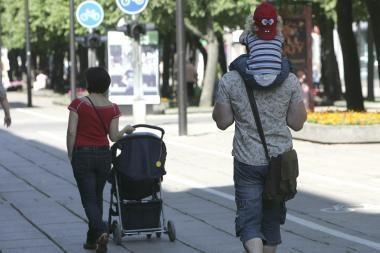 Orai Kaune: šiluma pamažu sugrįš