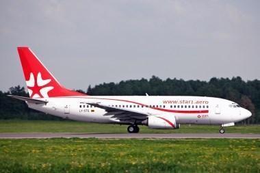"""""""Star1 Airlines"""" pradeda skrydžius į Palermą"""