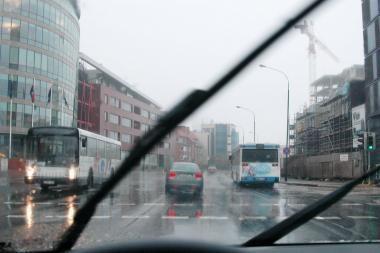 Pajūryje - lietingas savaitgalis
