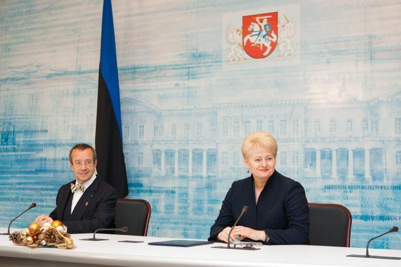 Prezidentas: Estija laikysis pažadų dalyvauti Visagino AE projekte