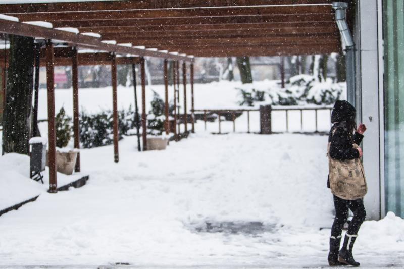 Užsitęsusi žiema - kirtis Kauno restoranams ir lauko kavinėms