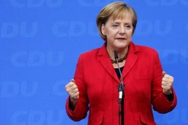 A.Merkel perrinkta kanclere