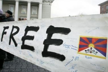 Tibeto sukilimo metinės Vilniuje bus paminėtos piketu