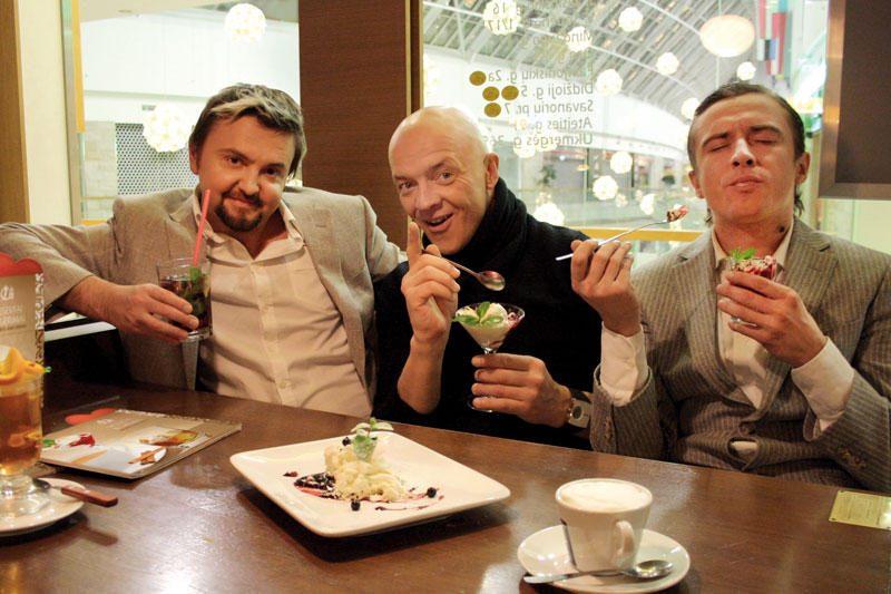 Garsūs muzikantai įvertino atnaujintą desertų meniu