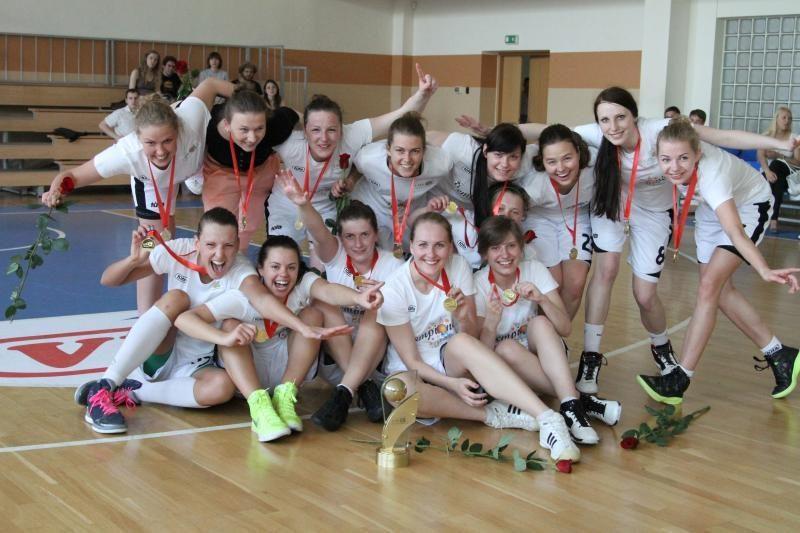 Lietuvos moterų krepšinio A lygos čempione tapo VU komanda