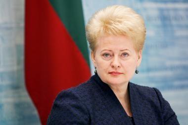 Prezidentė: Lietuvos ekonomika šiemet augs daugiau nei 5 proc., krizė jau praeityje