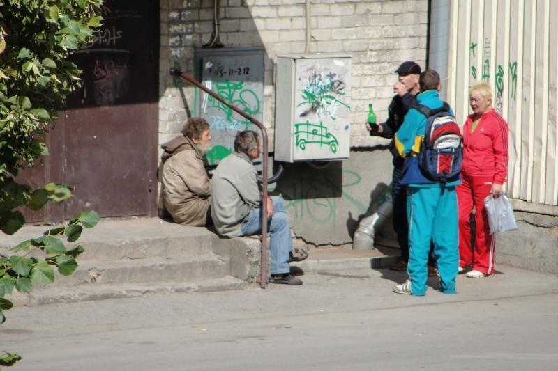 """Puota – prie pat J.Janonio gatvės """"Ikiuko"""" durų"""