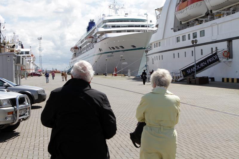 Klaipėdos uoste - trys kruiziniai laivai