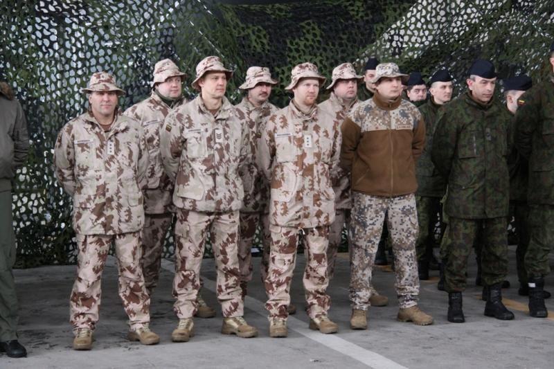 Afganistane sužeisti du Lietuvos  kariai