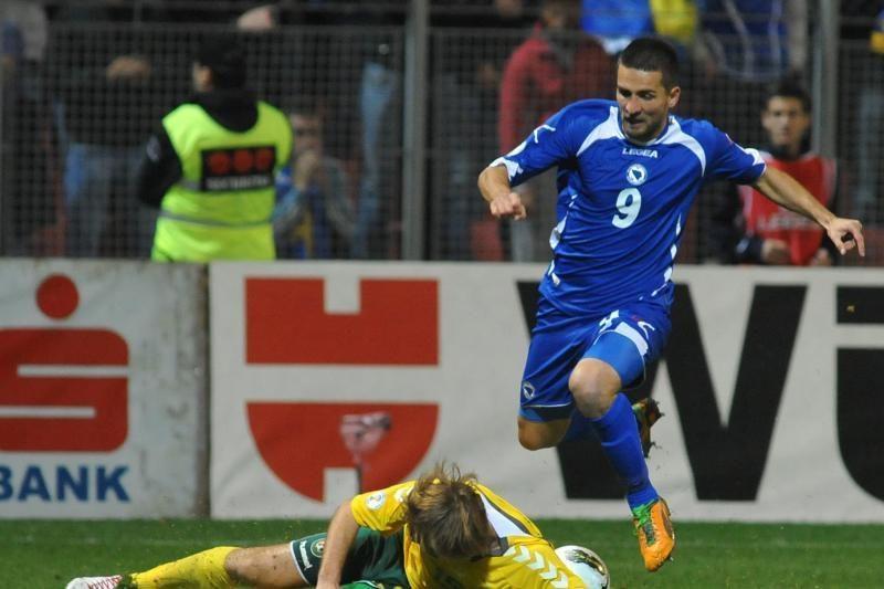 Fiasko: Bosnija ir Hercegovina į lietuvių vartus įmušė tris įvarčius