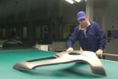 """""""AvtoVAZ"""" paleido naują kėbulo dalių gamybos liniją"""