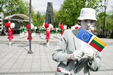Didmiesčių gyventojai mato naudą Lietuvos narystėje ES