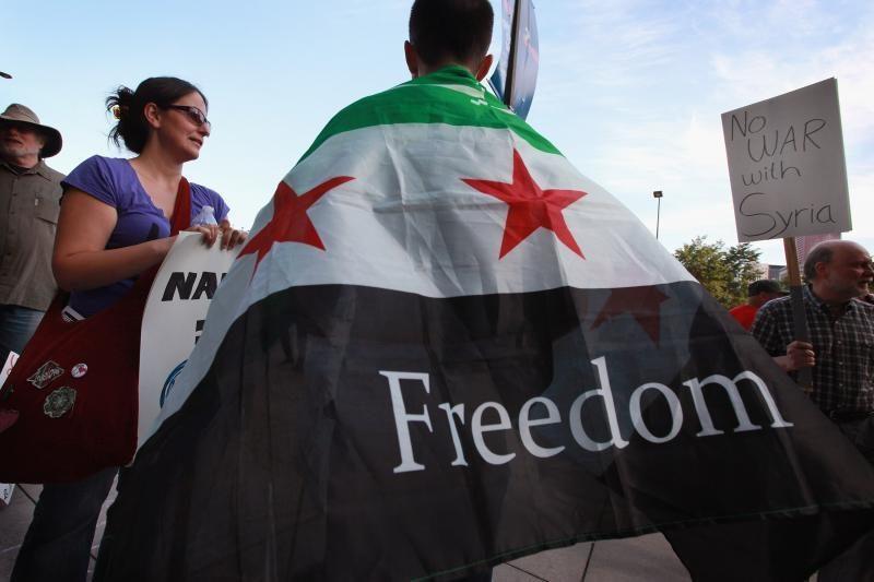 Sirijos opozicija prieš JT balsavimą reikalauja sankcijų