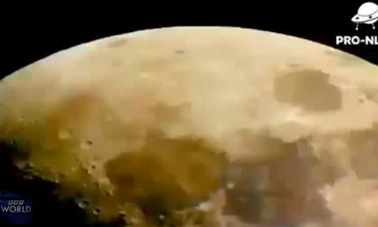 Nufilmuotas Mėnulyje skraidantis NSO - tiesa ar montažas?