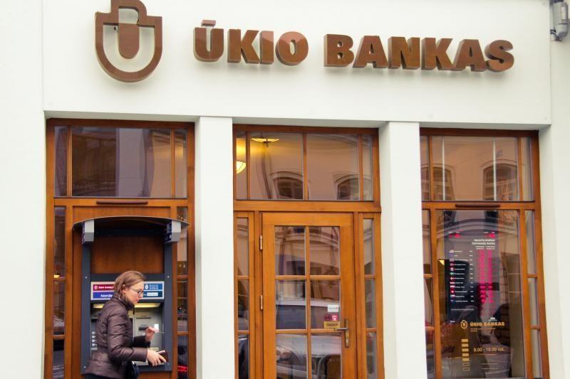 Ūkio banko klientai raginami nepanikuoti (išsamesnė informacija)