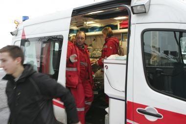 Minsko plente autovežio kabina prispaudė žmogų