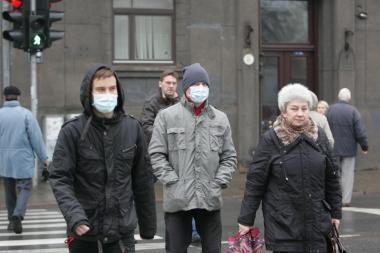 Šiemet gripu sergame mažiau