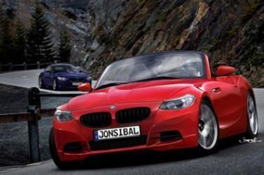 Šv.Kalėdoms - naujoji BMW Z4