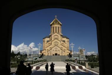 Gruzijos turizmo sektorius sunaikintas