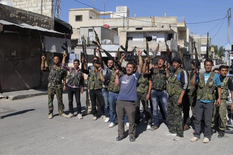 """Sirijos sukilėliai rengiasi """"visų mūšių motinai"""""""