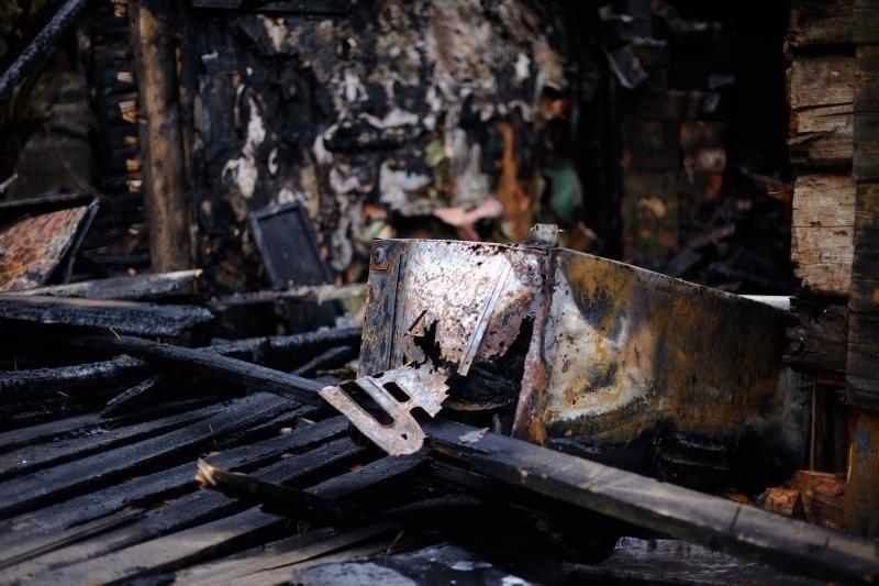 Gargždų miesto gyventojus pažadino gaisras